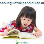 Menabung untuk pendidikan anak