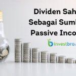 Dividen Saham Sebagai Sumber Passive Income