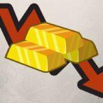 penurunan harga emas