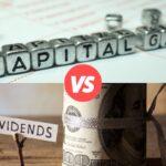 capital gain vs dividen